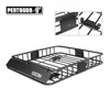 Pentagon Tools Car Top Cargo Basket For Automobile or Minivan SUV Car Rack