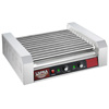 4094 Great Northern Popcorn Commercial 30 Hot Dog 11 Roller Grilling Machine 1650W