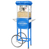 6110 Great Northern Popcorn Blue Foundation Popcorn Popper Machine Cart, 4 Ounce