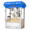 6114 Great Northern Popcorn Blue Foundation Popcorn Popper Machine, 8 Ounce
