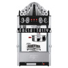 Great Northern Popcorn 20 Ounce Black Commercial Style Popcorn Machine, Movie Theater Marquee Popper