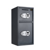 Digital Safe-2 Safes in 1-Double Doors, Electronic, Steel, Keypad, 2 Keys-Protect Money, Jewelry, Passports, Valuables-For Home or Business by Paragon