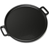 Cast Iron Pizza Pan-14? Skillet for Cooking, Baking, Grilling-Durable, Long Lasting, Even-Heating and Versatile Kitchen Cookware by Chef Buddy
