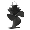 Stove Fan- Heat Powered Fan for Wood Burning Stoves or Fireplaces-Quiet and Low Maintenance, Disperses Warm Air Through House by Home-Complete