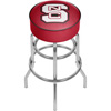 North Carolina State Chrome Bar Stool with Swivel