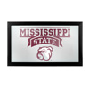 Mississippi State University Logo and Mascot Framed Mirror