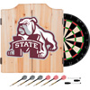 Mississippi State University Dart Cabinet w/ Darts and Board