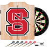 North Carolina State Dart Cabinet Set with Darts and Board