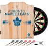 NHL Dart Cabinet Set with Darts and Board - Toronto Maple leafs