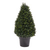 Artificial Cypress Topiary-37? Tower Style Faux Plant in Sturdy Pot - Realistic Indoor or Outdoor Potted Shrub-Home Decor by Pure Garden