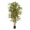 6 Ft. Artificial Bamboo ? Tall Faux Potted Indoor Floor Plant for Home, Restaurant or Office D�cor ? Large and Lifelike by Pure Garden (Natural Trunk)