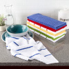 Kitchen Towels- Set of 8- 16?x28? Absorbent 100% Cotton Hand Towel- Waffle Weave in 4 Colors of Striped & Solids- Dishtowels for Drying by Lavish Home