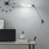 Swing Arm Architect Task Lamp with Clamp, LED Ring Light-Stepless Dimming-High CRI 95-Eye Friendly Light for Reading, Drafting & Office by Lavish Home
