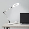 Swing Arm Architect Desk Lamp, LED Ring Light- Stepless Dimming- High CRI 95- Eye Friendly Task Lighting for Reading, Drafting & Office by Lavish Home