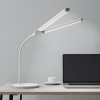 Foldable LED Lamp-Dual Light Bar with 4 Level Dimming, Eye Friendly Task Light-Flexible, Lighting for Reading, Crafting & Desk by Lavish Home