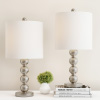 Table Lamps ? Set of 2 Matching Modern Stacked Balls Lighting Energy-Efficient LED Bulbs Included by Lavish Home
