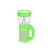 3 in 1 LED Lantern, Flashlight and Panel Light, Lightweight Camping Lantern By Wakeman Outdoors (For Camping Hiking Reading and Emergency) (Green)