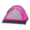 2-Person Dome Tent- Rain Fly & Carry Bag- Easy Set Up-Great for Camping, Backpacking, Hiking & Outdoor Music Festivals by Wakeman Outdoors (Pink)
