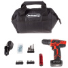 20V Cordless Drill with Rechargeable Lithium Ion Battery and 101 Piece Accessory Set - Portable Power Tool with Bits, Drivers and Bag by Stalwart