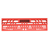 Mountable Tool Storage Shelf for Garage, Shed or Work Shop Organization- Wall Mount Multi Level Organizer Rack, Holds Up To 92 Tools by Stalwart