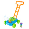 Bubble Lawn Mower- Toy Push Lawnmower Bubble Blower Machine, Walk Behind Outdoor Activity for Toddlers, Boys and Girls by Hey! Play!