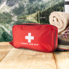 First Aid Kit- 180 Piece Set Emergency Medical Supplies for All-Purpose, Safety and Survival Essentials for Home, Car, Office by Bluestone