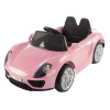 Ride On Sports Car ? Motorized Electric Rechargeable Battery Powered Toy with Remote Control, MP3 and USB, Lights and Sound by Lil? Rider (Pink)