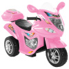 Ride-On Toy Trike Motorcycle ?Battery Operated Electric Tricycle for Toddlers with Built-in Sound and Working Headlights by Lil Rider (Pink)