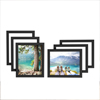 Somerset Home 8x10 Gallery Wall Picture Frames - Set of 6, Black