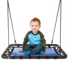 Platform Swing ? 40? x 30? Hanging Outdoor Tree or Playground Equipment Standing Rectangle Bench Swing Accessory with Adjustable Rope by Hey! Play!