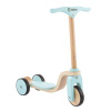 Kids Wooden Scooter-Beginner Push Steering Handlebar, 3 Wheel, Kick Scooter-Fun Balance and Coordination Riding Toy for Girls and Boys by Lil? Rider
