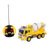 Remote Control Cement Mixer Truck? 1:16 Scale, Fully Functional Rotating Concrete Construction RC Vehicle with Lights & Sound for Kids by Hey! Play!