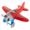 Plastic Airplane Toy for Kids and Toddlers - Non-Toxic BPA and Phthalate Free Children's Propeller Aeroplane Model Play Flying Vehicle by Hey! Play!