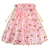 Princess Cape-Pink and Gold with Star Detail-Pretty Pretend Play Dress Up for Tea Parties, Halloween, and Birthdays-Costume Accessories by Hey! Play!