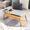 Lap Desk ? Bamboo Travel Tray with Magnetic Base, Ergonomic Adjustable Top and Storage Drawer for Laptop, Reading, Writing and Drawing by Lavish Home