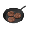 Frying Pan - Cast Iron Pre-Seasoned Nonstick 10? Skillet - Cook Pancakes, Fajitas, Meat, Pizza and More - Kitchen or Camping Cookware by Chef Buddy