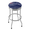 NHL Chrome Ribbed Bar Stool - Columbus Blue Jackets