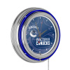 NHL Chrome Double Rung Neon Clock - Watermark - Vancouver Canucks?