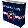 NHL Portable Bar with Case - Columbus Blue Jackets�