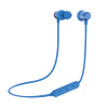 OontZ Angle 3 BudZ Bluetooth Headphones by Cambridge SoundWorks - Waterproof Earbuds, Superior Sound Deep Bass, Microphone, 8 Hr Play Time (Blue)
