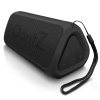 OontZ Angle 3 RainDance IPX7 Waterproof Portable Bluetooth Speaker, 10 Wt Power, Crystal Clear Stereo, Rich Bass, Pair Two, 100ft Range (Black)