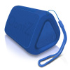 OontZ Angle solo Bluetooth Speaker Surprisingly Loud Bass 100? Wireless Range, IPX-5 Splashproof Blue with lanyard