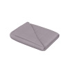 Somerset Home Adult 15lb Weighted Throw Blanket ? 48x72, Gray