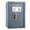 2.46 Cubic Feet Digital Safe? Electronic Lockbox with Keypad, 2 Manual Override Keys and 2 Interior Shelves by Ryland Supply