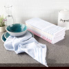 8-Piece Kitchen Towel Set- Striped Woven Hand Towels in 4 Colors- 100% Cotton Dish Towels for Drying by Weymouth Home