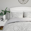 Hastings Home 3-PC Rose Comforter Set ? Full/Queen