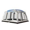 Screened-In Canopy Tent- 14?x12? Mesh Screen House for Instant Shelter, Shade & Camping? Zippered Door- Mosquito & UV Protection by Wakeman Outdoors