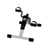 Portable Folding Fitness Pedal Stationary Under Desk Indoor Exercise Bike for Arms, Legs, Physical Therapy with Calorie Counter by Wakeman Fitness