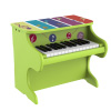 Children?s Toy Piano 25-Key Colorful Musical Upright Piano with Sounds for Learning to Play for Children, Toddlers by Hey! Play!