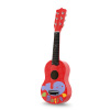 Kid?s Toy Acoustic Guitar with 6 Tunable Strings, Real Musical Sounds- Colorful Instrument for Toddlers, Children Learning to Play Music by Hey! Play!